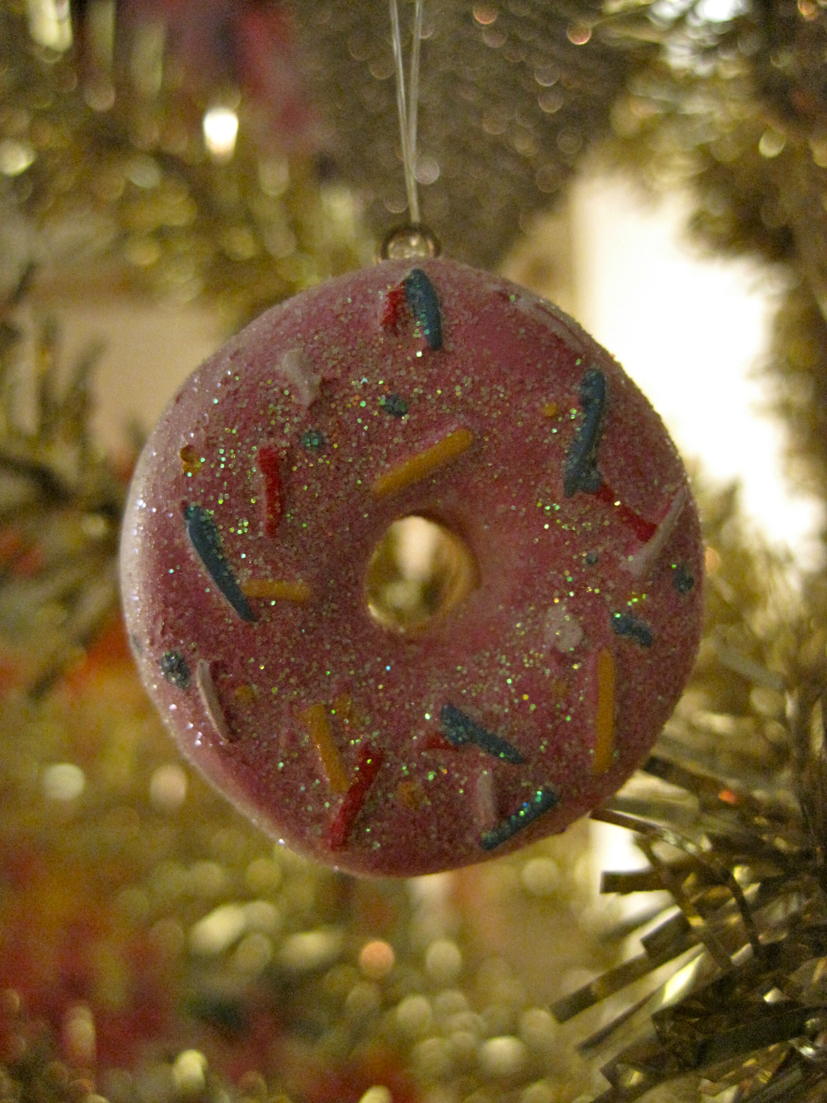... year of Donut Soup…this ornament will always remind me…ahhhh